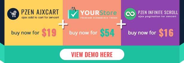 YourStore Premium Zencart Theme - 4